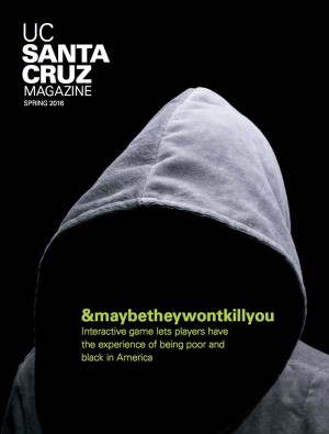 UC Santa Cruz Magazine, Spring 2016 cover